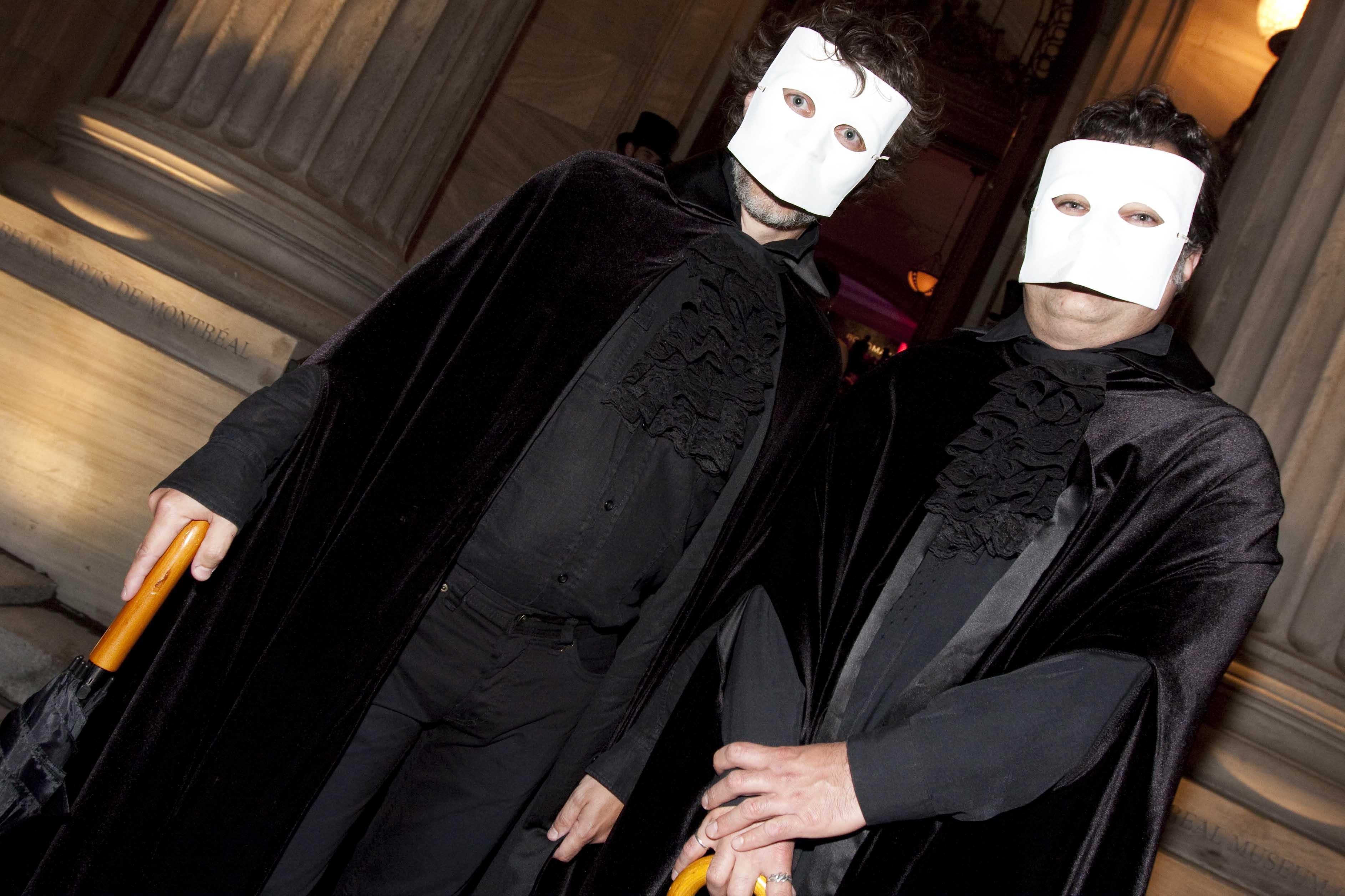 Les Yeux grands ouverts: bal masqué mystérieux au Musée des beaux-arts