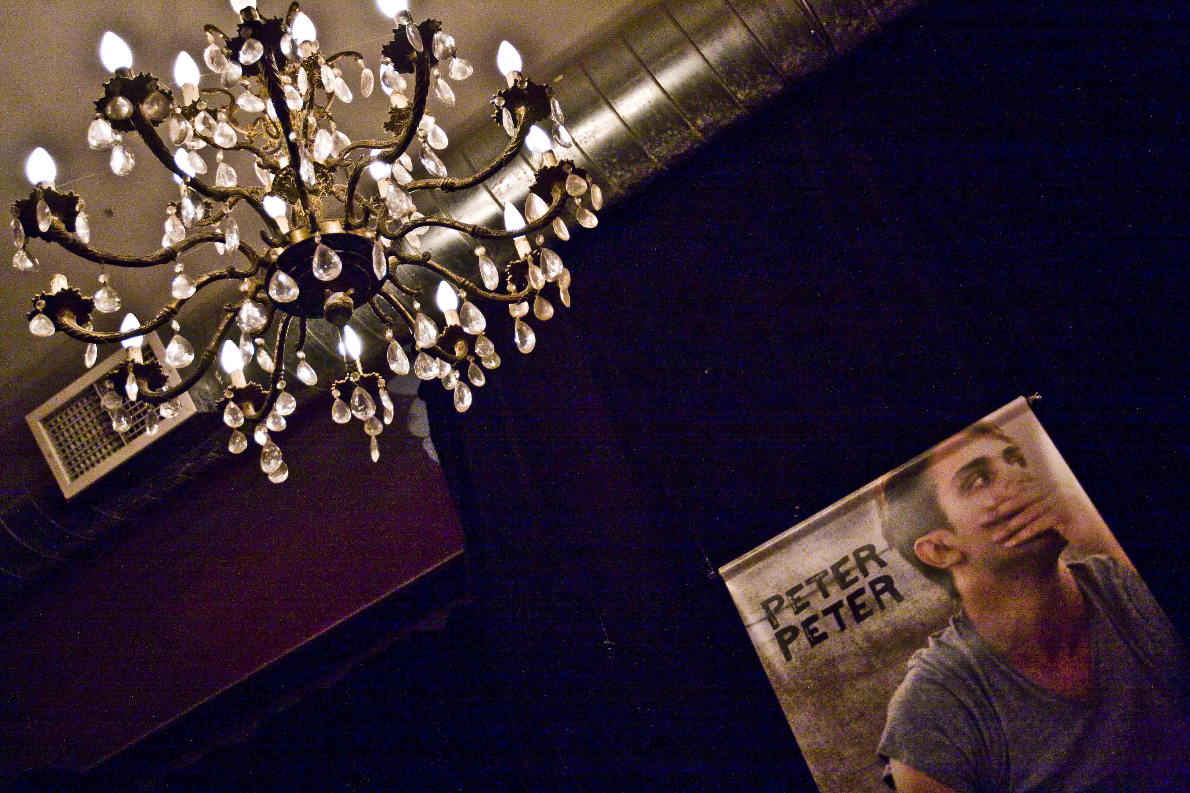 Peter Peter: lancement d'album à la Sala Rossa