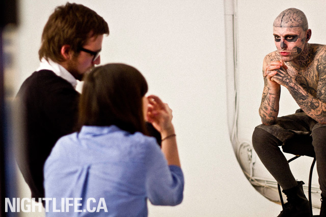 Rico The Zombie: A behind-the-scenes look at NIGHTLIFE.CA's exclusive cover shoot