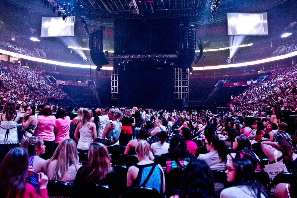 Backstreet Boys, New Kids on the Block et groupies mélancoliques