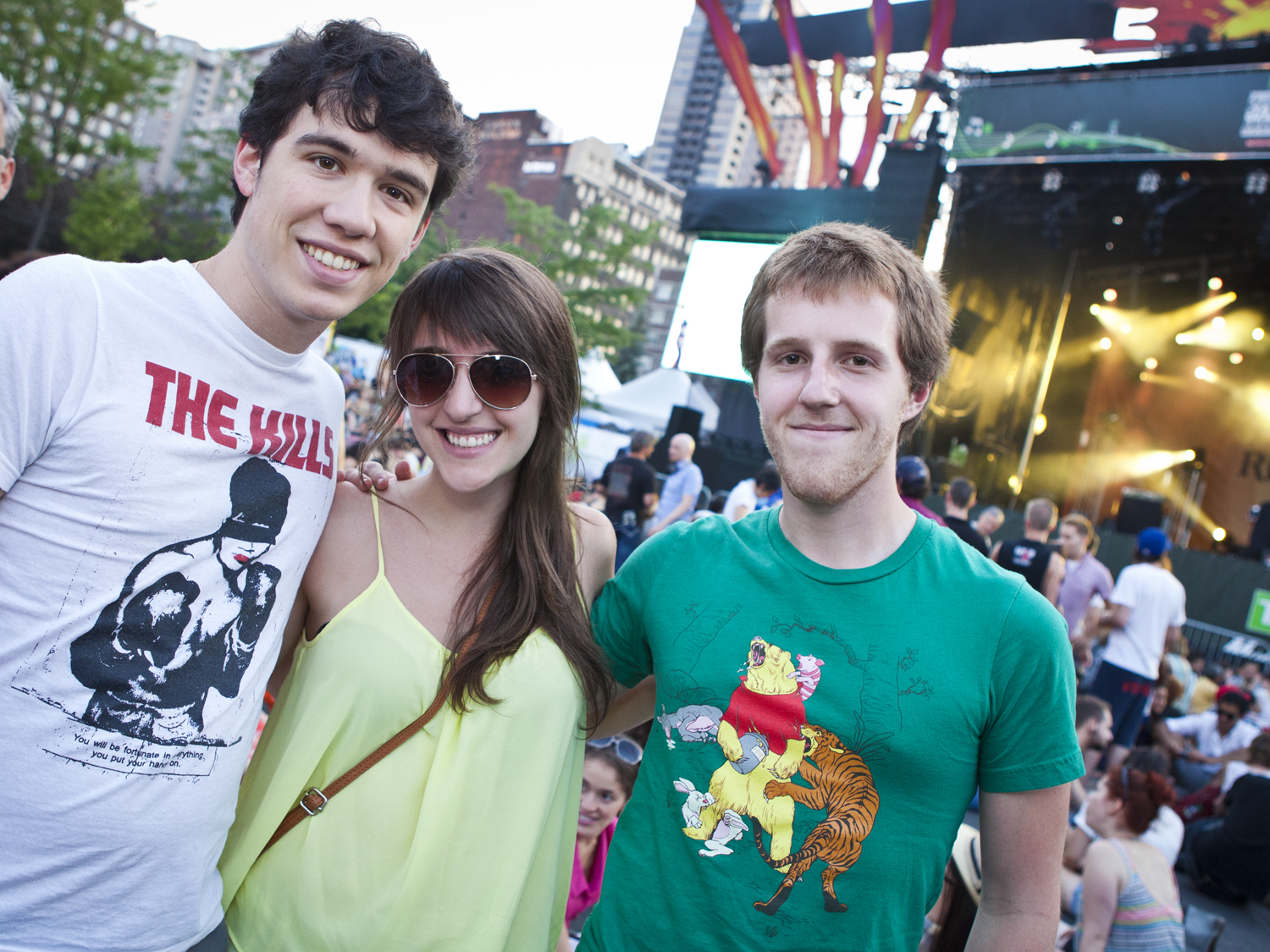 Chromeo au Jazz Fest: 2 frenches et 2 hot dogs on the side