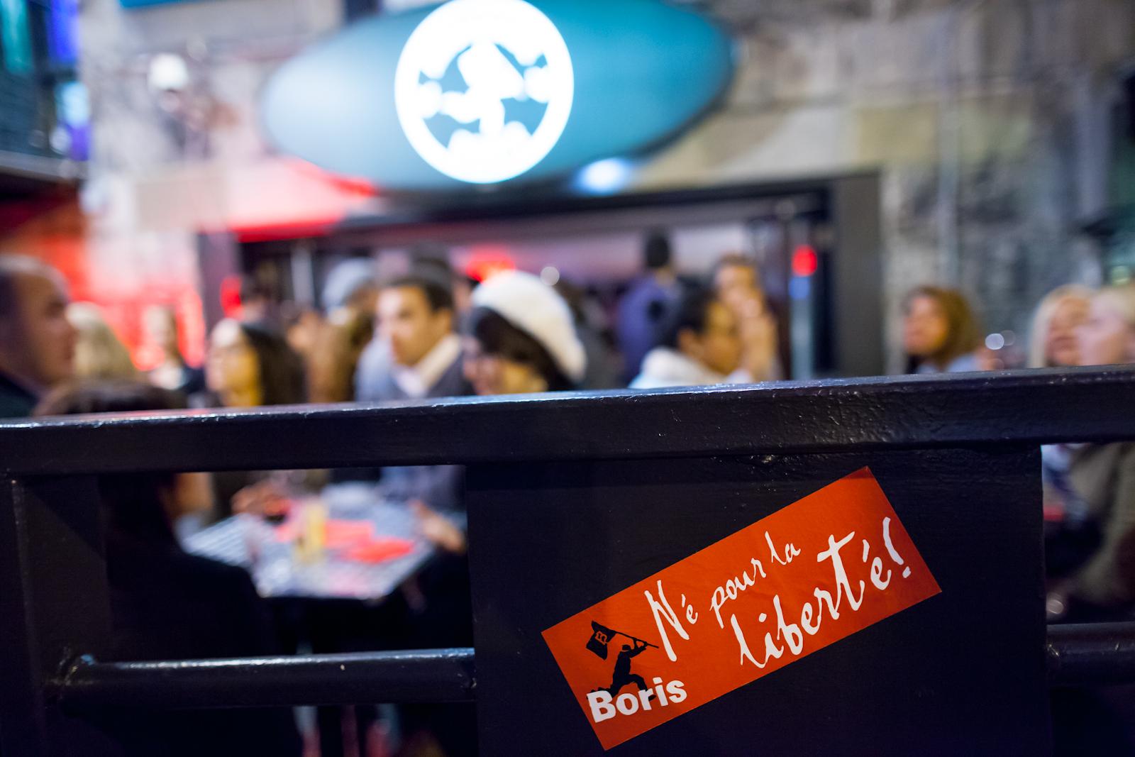 Soirée d'ouverture de l'Ambassade Boris: bières, terrasse et cuisine de rue