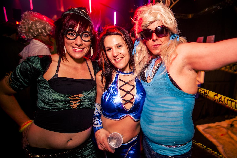 En photos : le party Freak House au Théâtre Plaza
