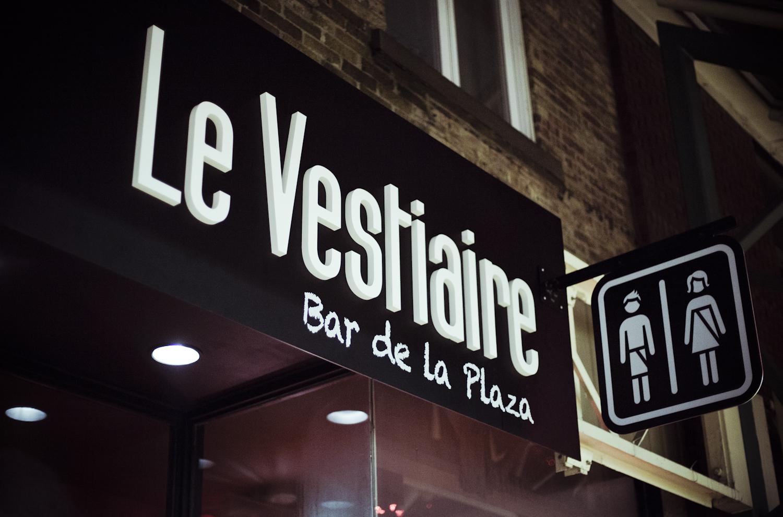 Le Vestiaire, le nouveau bar sympa de la rue St-Hubert