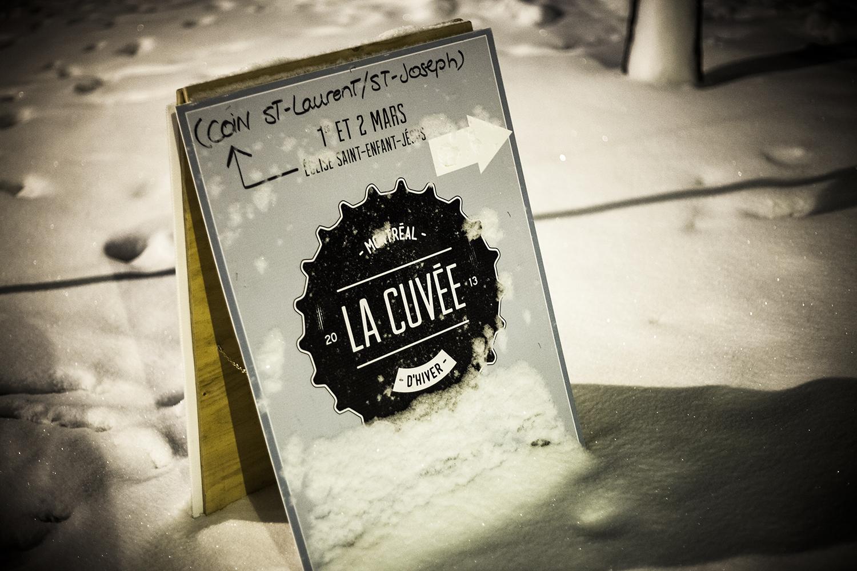 Bière, bouffe et beau monde à la Cuvée d'Hiver 2013