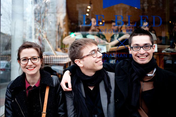 Le collectif d'artistes Dégel Créatif lance son expo Le Bled à la Galerie Le 1040