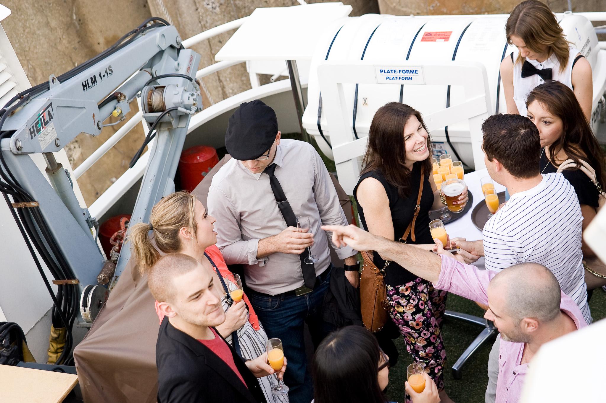 Le Montréalais nous fait vivre la belle vie à bord de son bateau-croisière