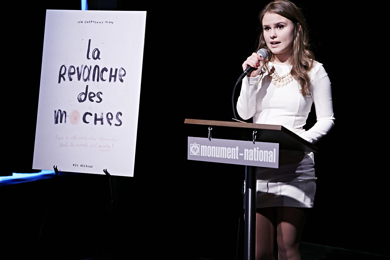 LA REVANCHE DES MOCHES, premier essai de Léa Clermont-Dion, est lancé au Monument National