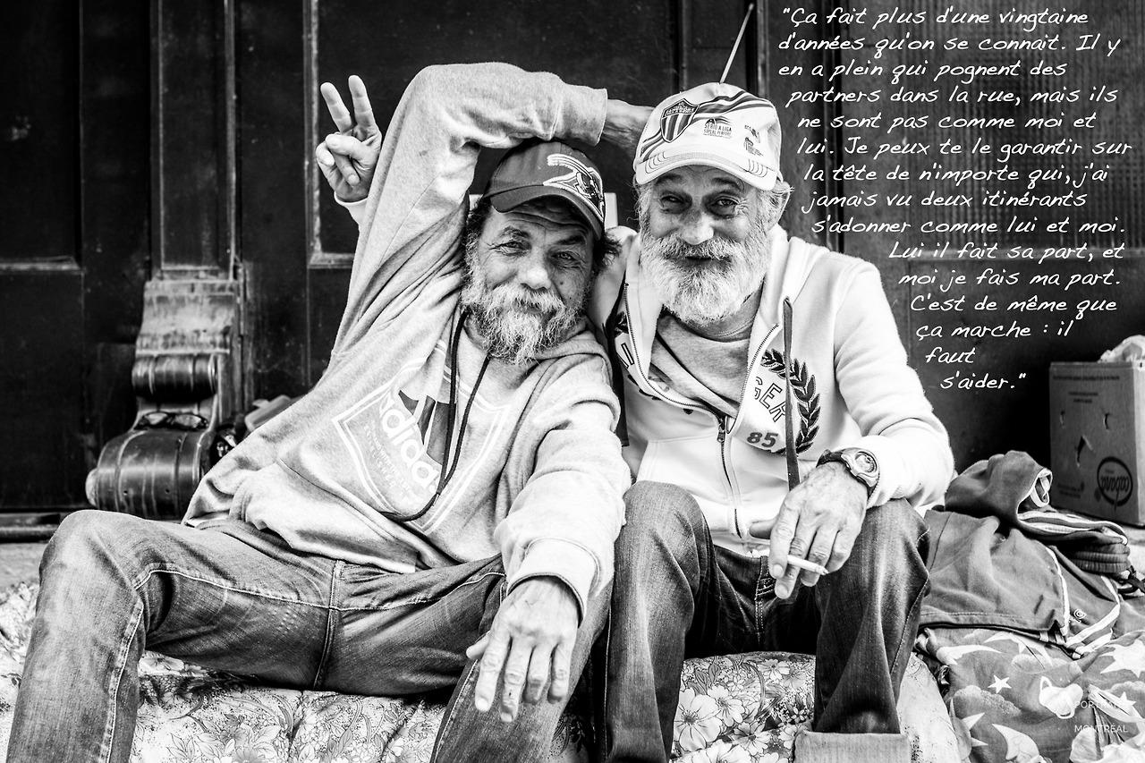 Un portrait des itinérants montréalais par Humans of the street