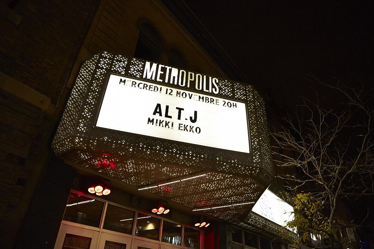 Tout Montréal est tombé en amour avec Alt-J hier soir au Métropolis