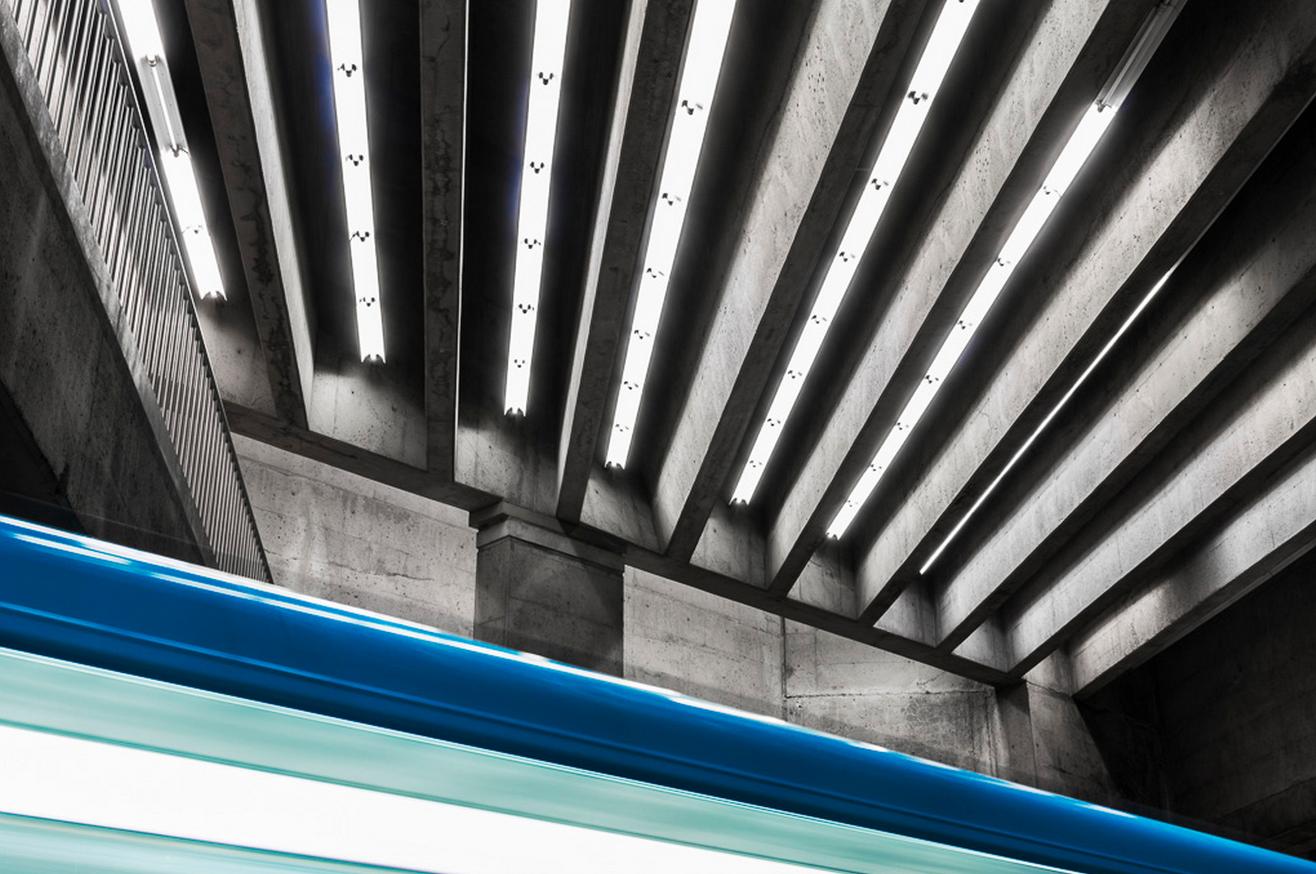 La beauté architecturale du métro dans un inspirant projet photo