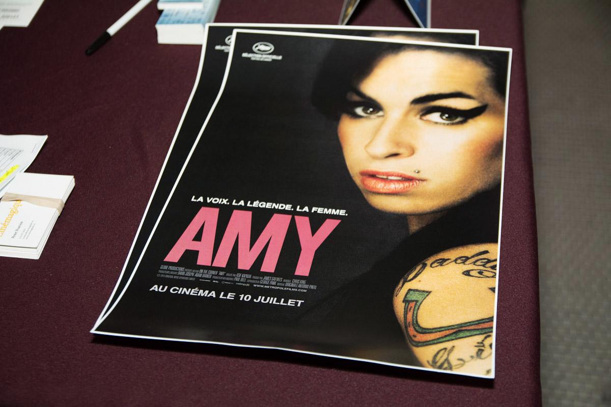 Le documentaire sur la vie d'Amy Winehouse émeut le public montréalais lors de la première au FIJM