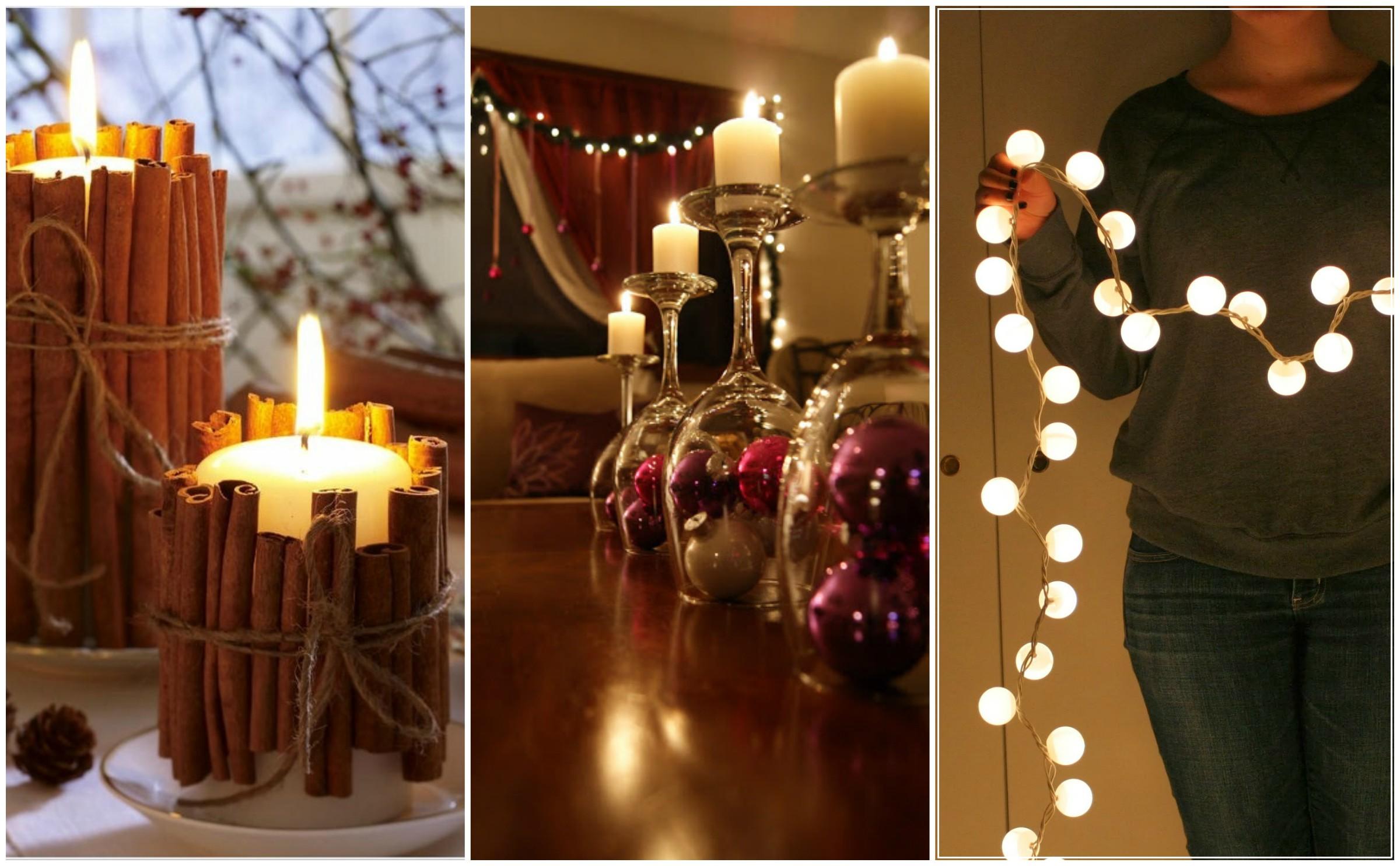 Couronne De Noel Facile À Faire 7 décorations diy faciles à faire pour embellir ta maison