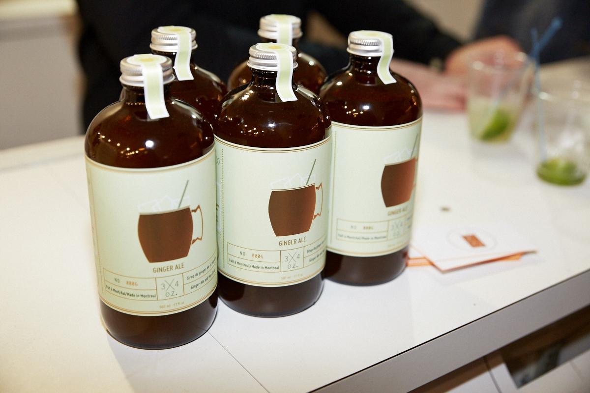 Un lancement fruité, piquant et sucré pour le Ginger Ale maison de 3/4 oz