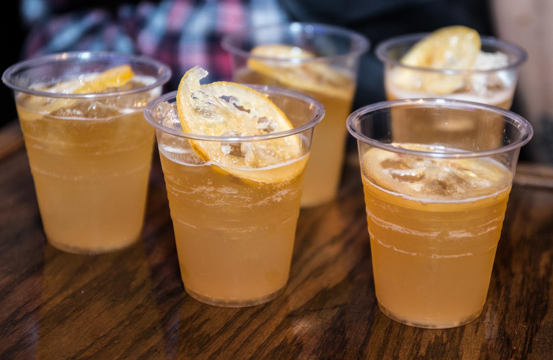Festival de cocktails à la SAT hier pour la compétition de bartenders Made With Love