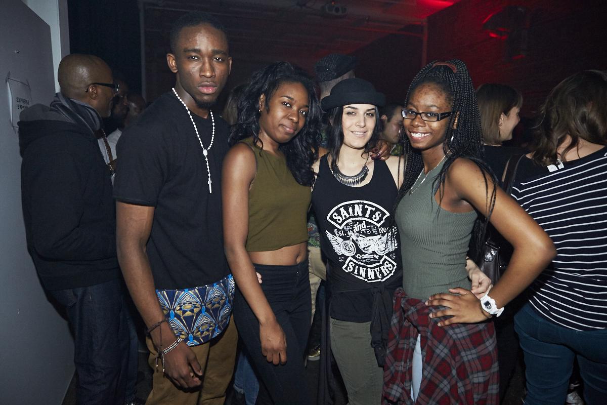 Les DJs Poirier, Mr. Touré! et Kyou ont fait danser le Artgang toute la nuit vendredi dernier