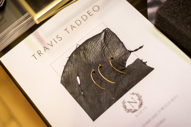 Travis Taddeo: soirée VIP, mode et artisans locaux