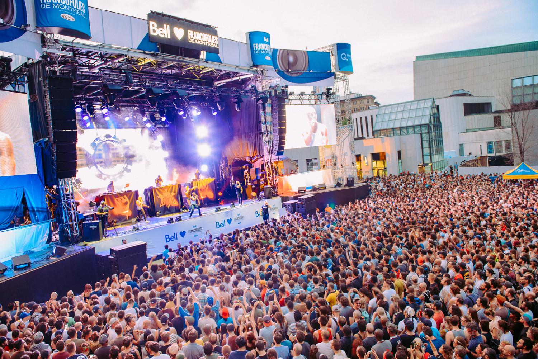 IAM rassemble des milliers de festivaliers et termine les Francos en beauté!