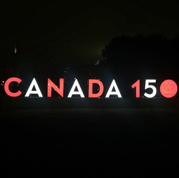 15 photos de l'enseigne 3D pour le Canada dans le Vieux-Port