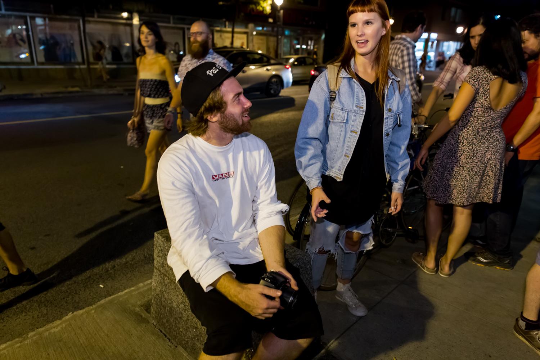 Festival SOIR: quand les artistes prennent d'assaut la rue Beaubien (PHOTOS)