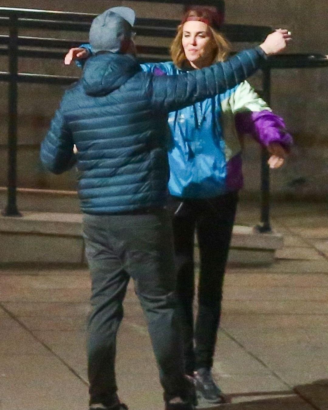 Charlize Theron et Seth Rogen aperçus à Montréal pour un tournage