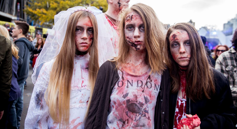 Nos photos de la 7ème Marche des Zombies de Montréal