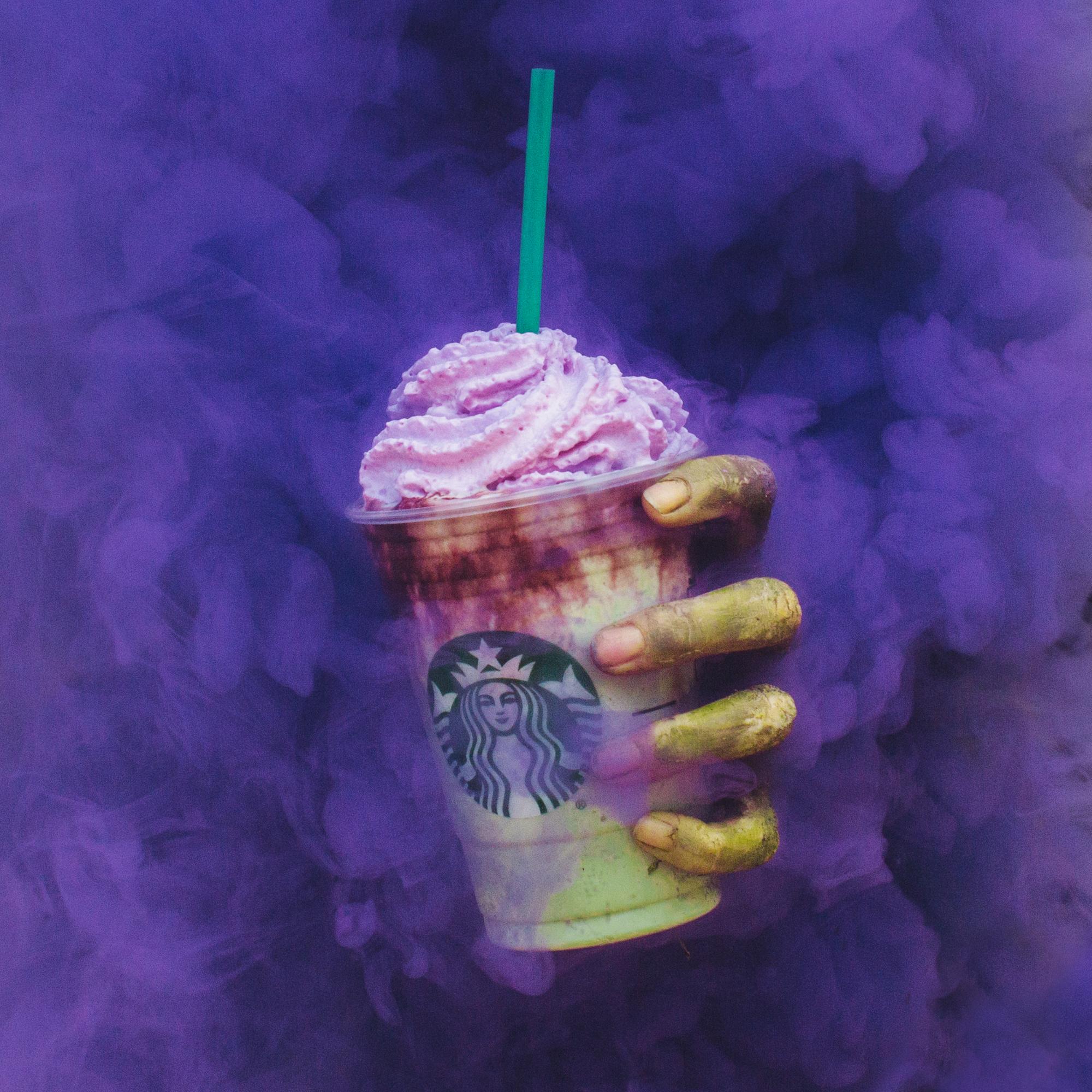 Tu peux maintenant boire le « Zombie frappuccino » pour l'Halloween