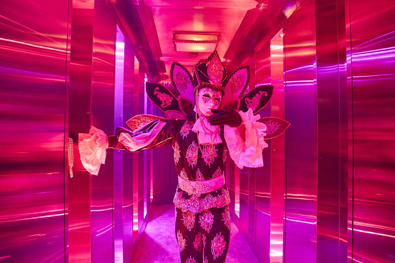 La Voûte célèbre le Mardi Gras avec une soirée carnavalesque des plus sexy (PHOTOS)