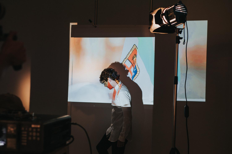 En coulisses du photo shoot de Vanessa Pilon et Alex Nevsky pour Doyle (PHOTOS)