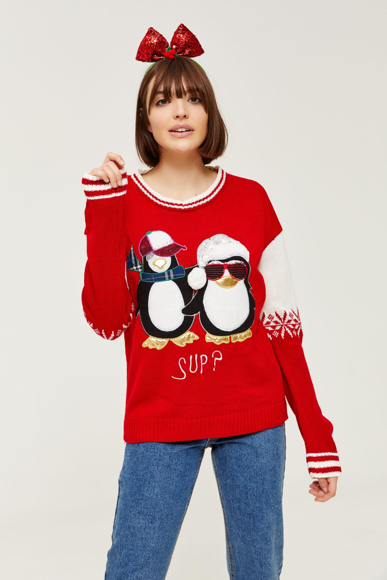 10 magnifiques ugly Christmas sweaters à porter pour le temps des Fêtes!