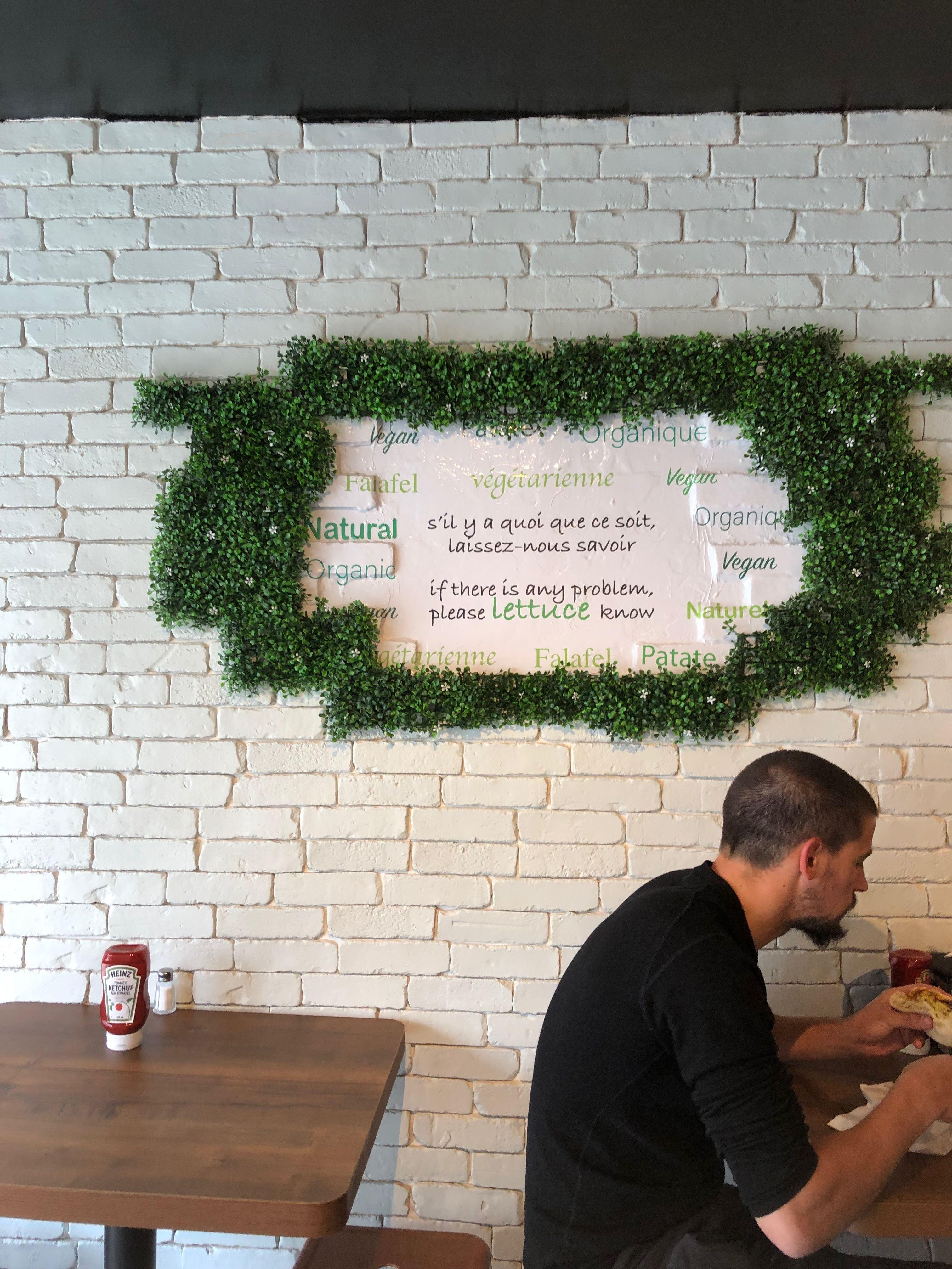 Falafel Plus: un nouveau frais et délicieux comptoir végé sur l'avenue Mont-Royal