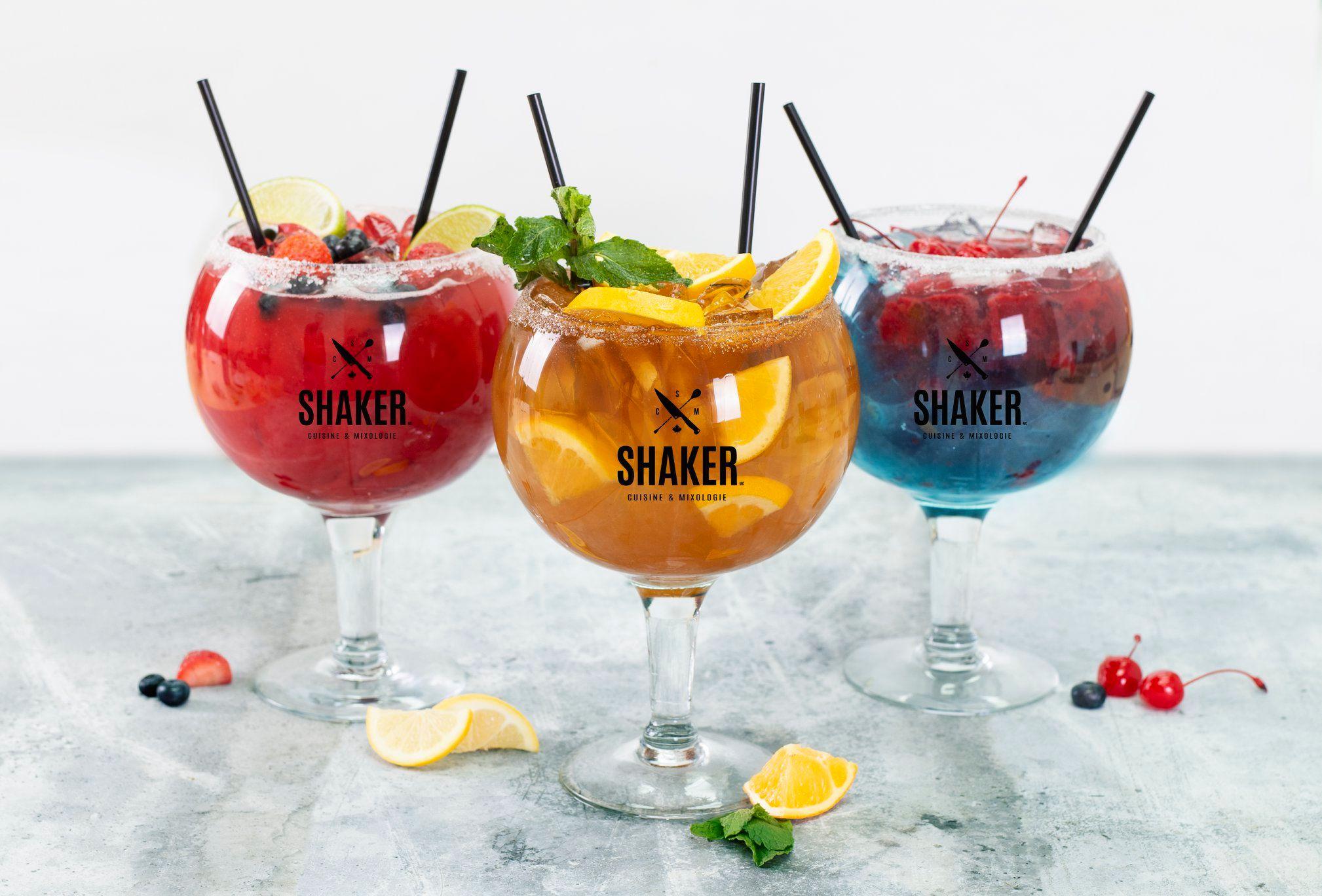 La franchise du Shaker est maintenant à Montréal, pis y'était temps!