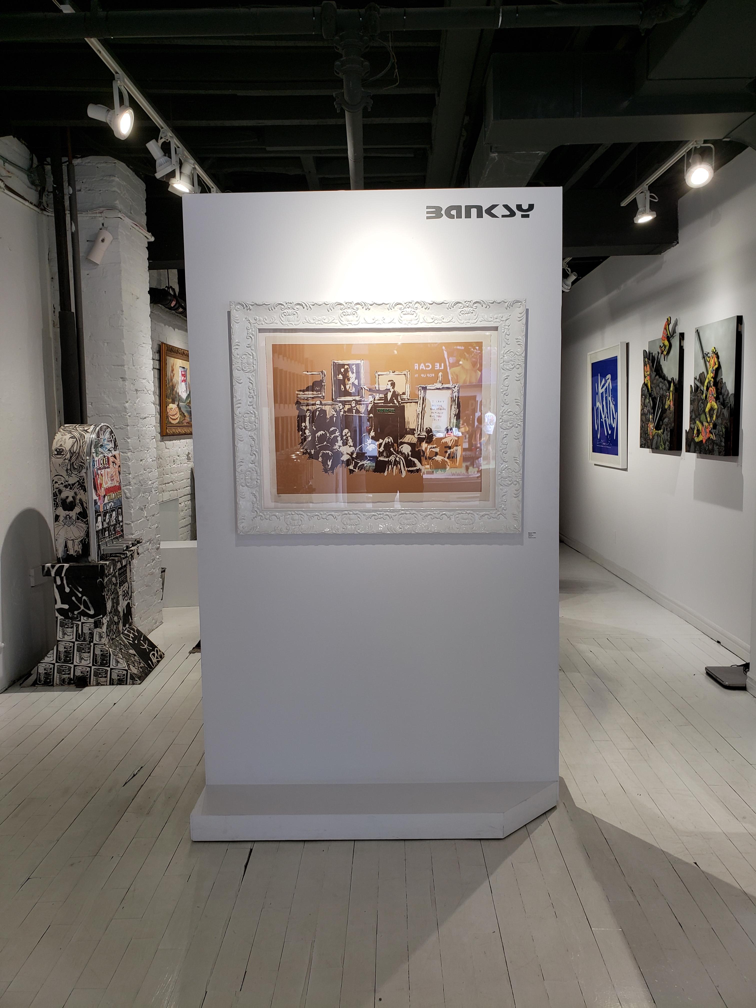 Banksy : une œuvre de l'artiste international dans une galerie montréalaise (PHOTOS)