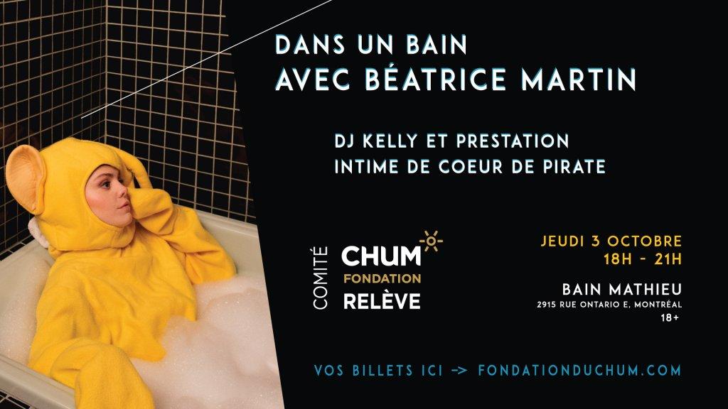 Béatrice Martin - Coeur de Pirate - Fondation du CHUM