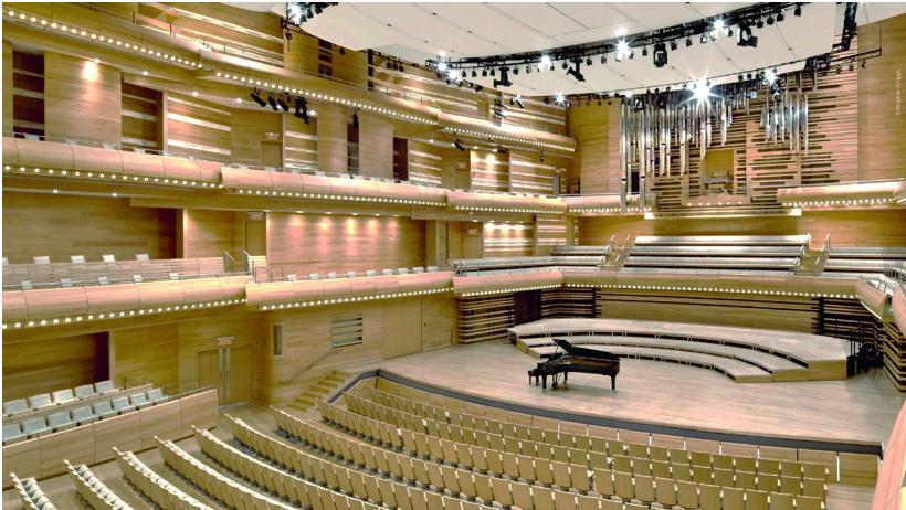 Maison symphonique - orchestre - opéra