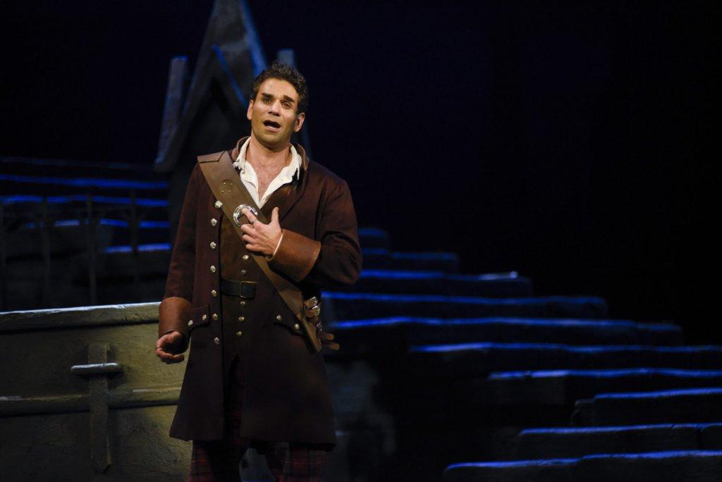 Frédéric Antoun (Edgardo) Opéra de Montréal Lucia di Lammermoore