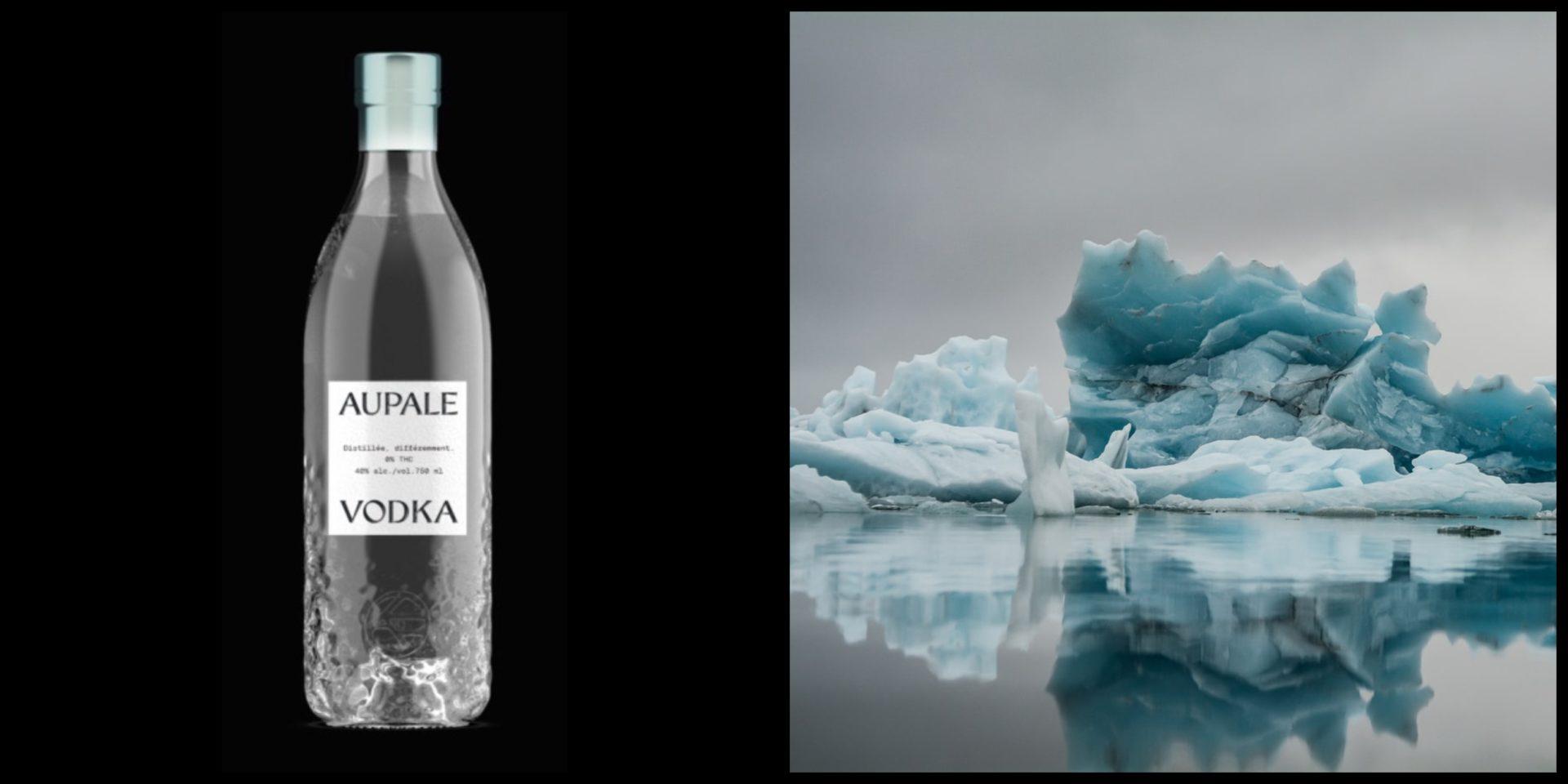 Une nouvelle vodka québécoise faite à partir d'eau de glacier sera bientôt en vente à la SAQ!