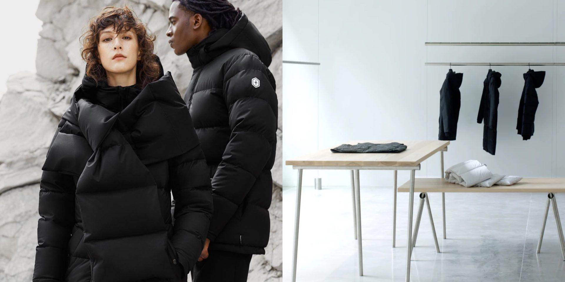 Cette compagnie de manteaux québécoise ouvre ENFIN sa boutique phare, aujourd'hui à Montréal!