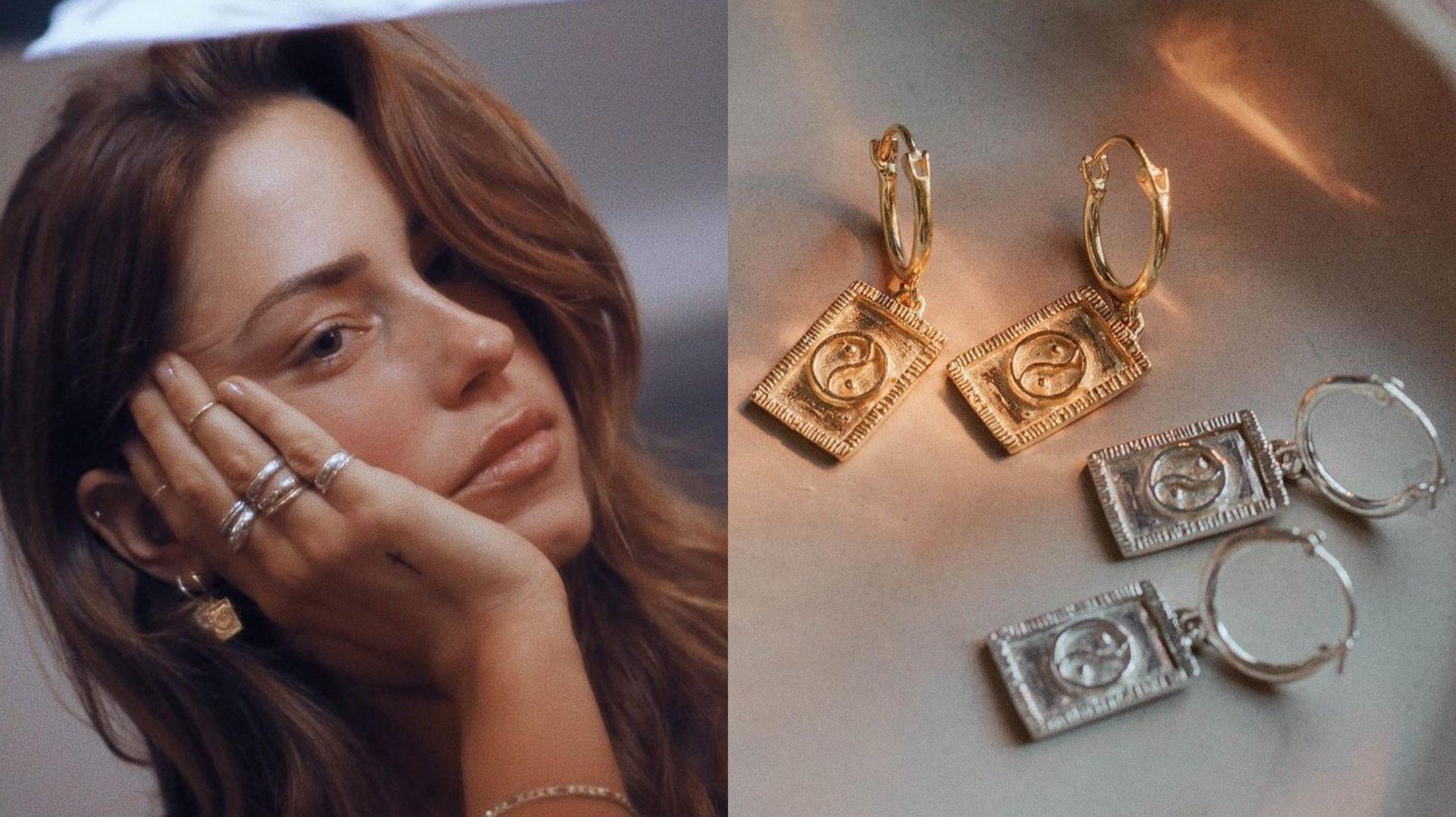 Pézie Beaudin d'OD Grèce lance une fabuleuse collection de bijoux avec la marque montréalaise Ken & Jame