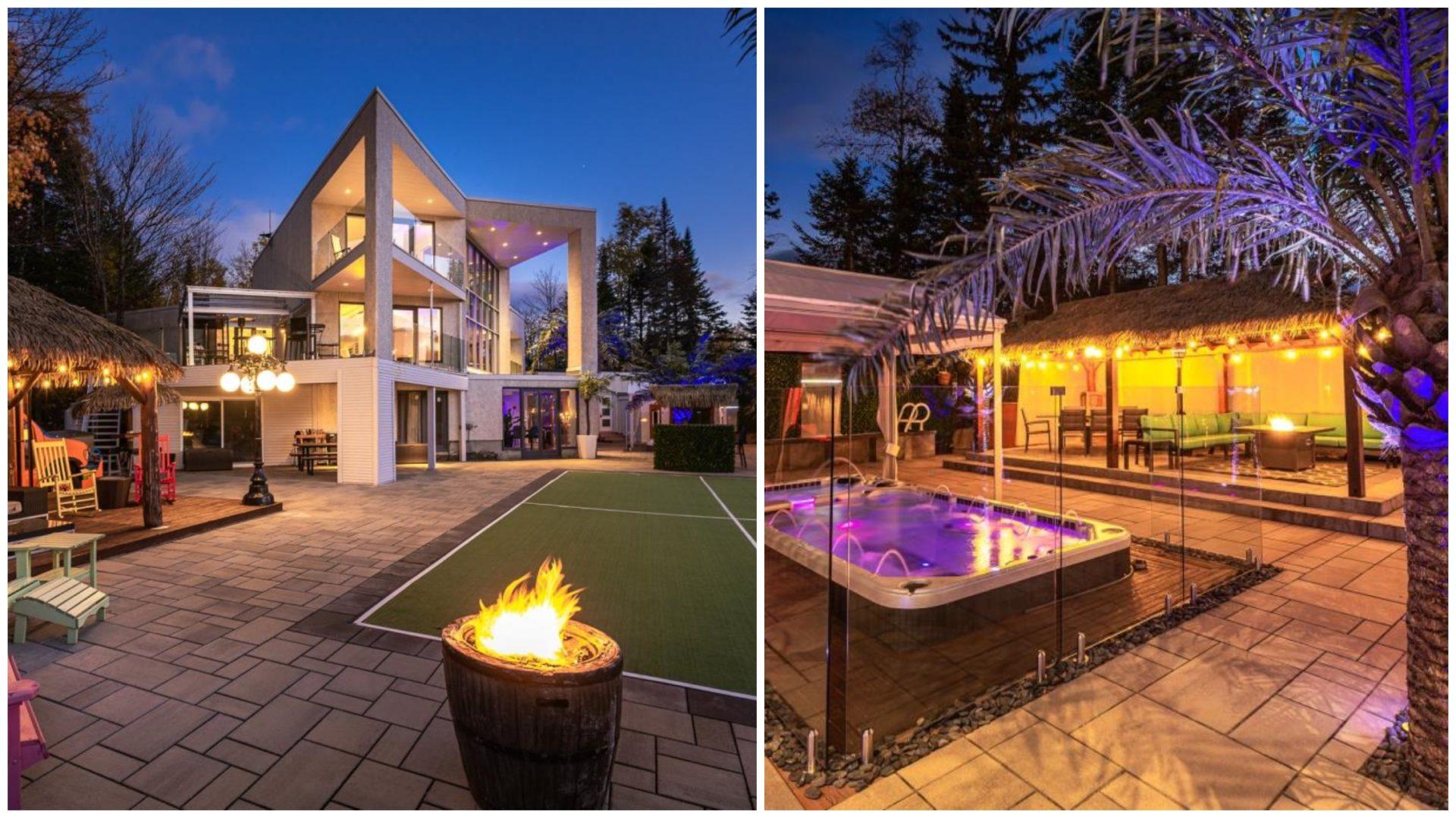 Cette maison à vendre à moins d'une heure de Montréal sort complètement de l'ordinaire! [PHOTOS]