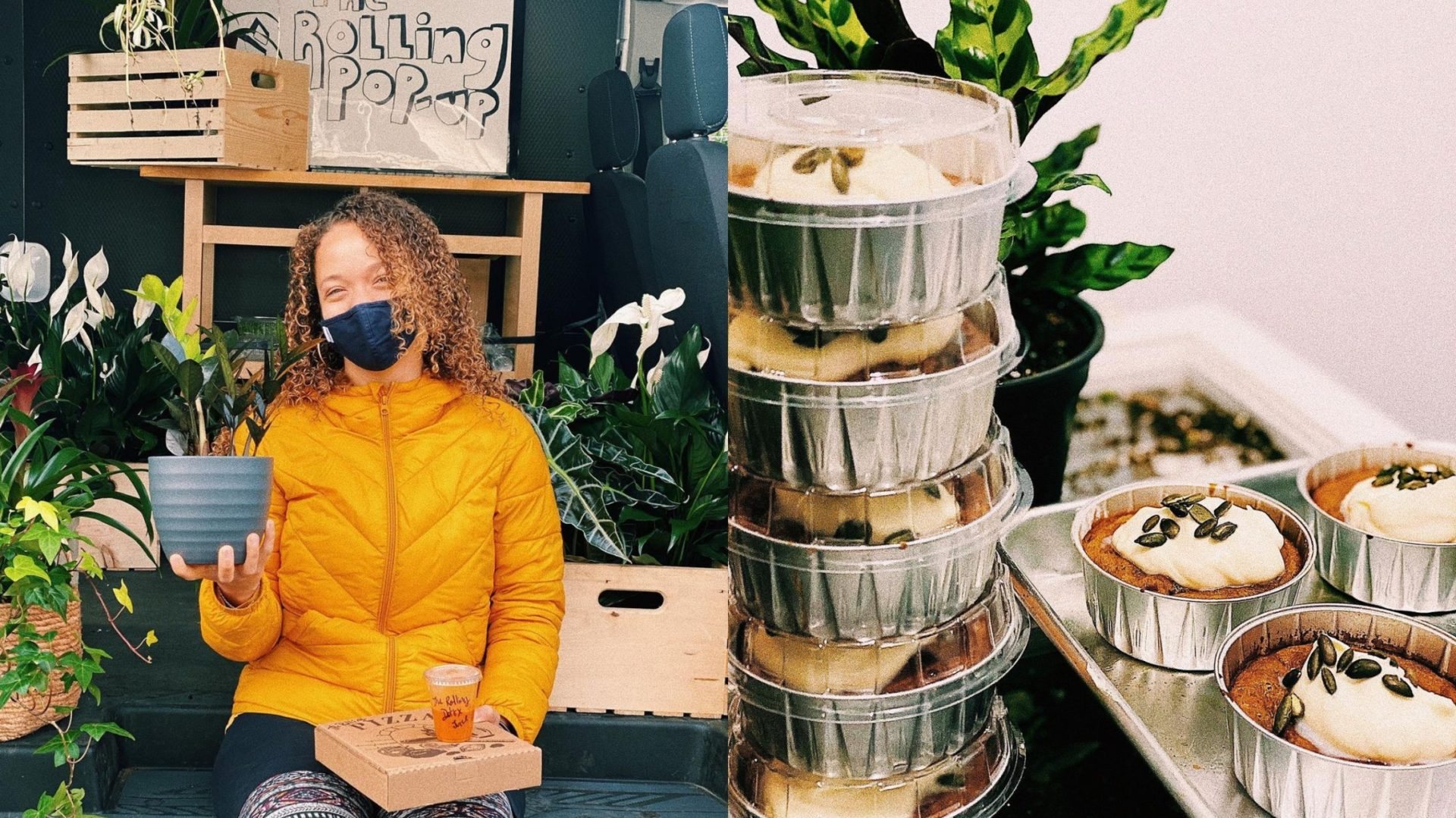 Montréal: Vous pouvez maintenant vous faire livrer un repas et des plantes à domicile grâce à cette boutique ambulante!