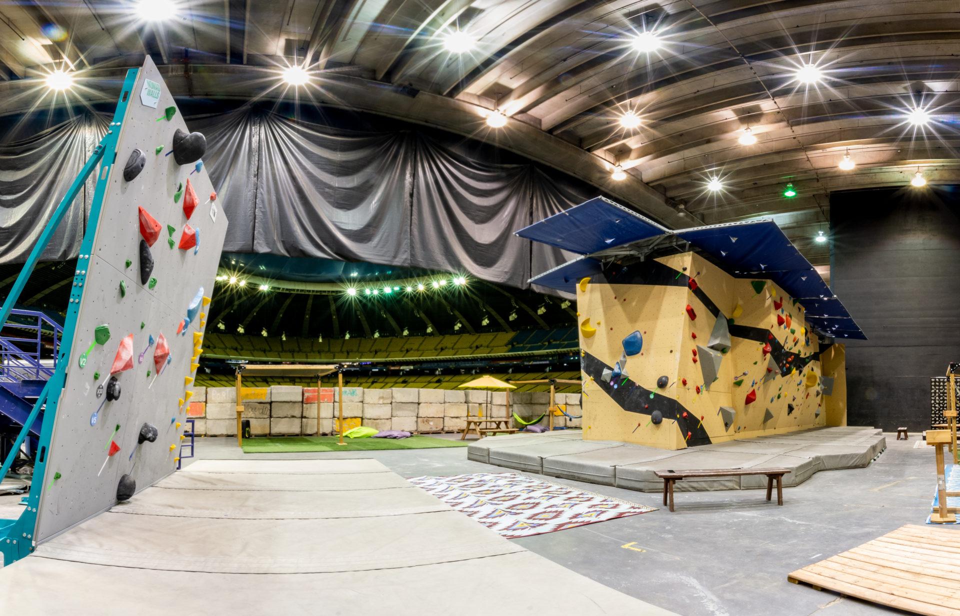 Le Stade olympique inaugure son tout nouveau centre d'escalade intérieur et c'est parfait pour les sportifs montréalais!