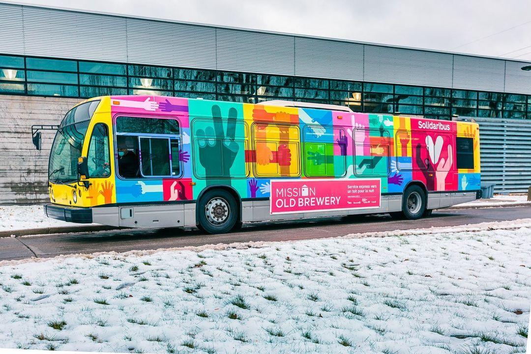 Le Solidaribus : Un autobus qui transportera les itinérants vers des refuges cet hiver