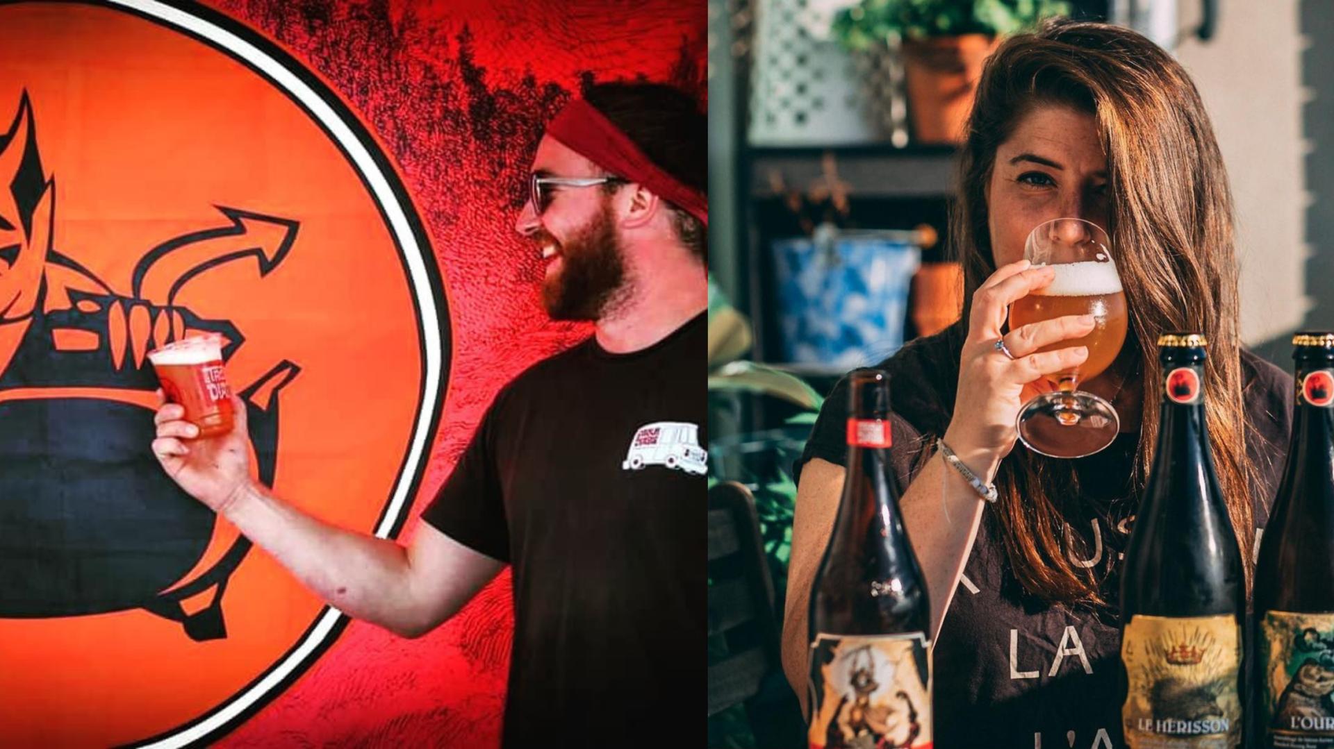 Le Trou du Diable vient de lancer deux nouvelles bières qui font fureur sur les réseaux sociaux!