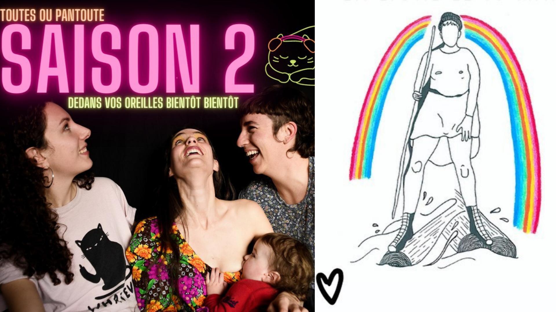 Ce merveilleux podcast queer-féministe et indépendant vient de lancer sa deuxième saison!