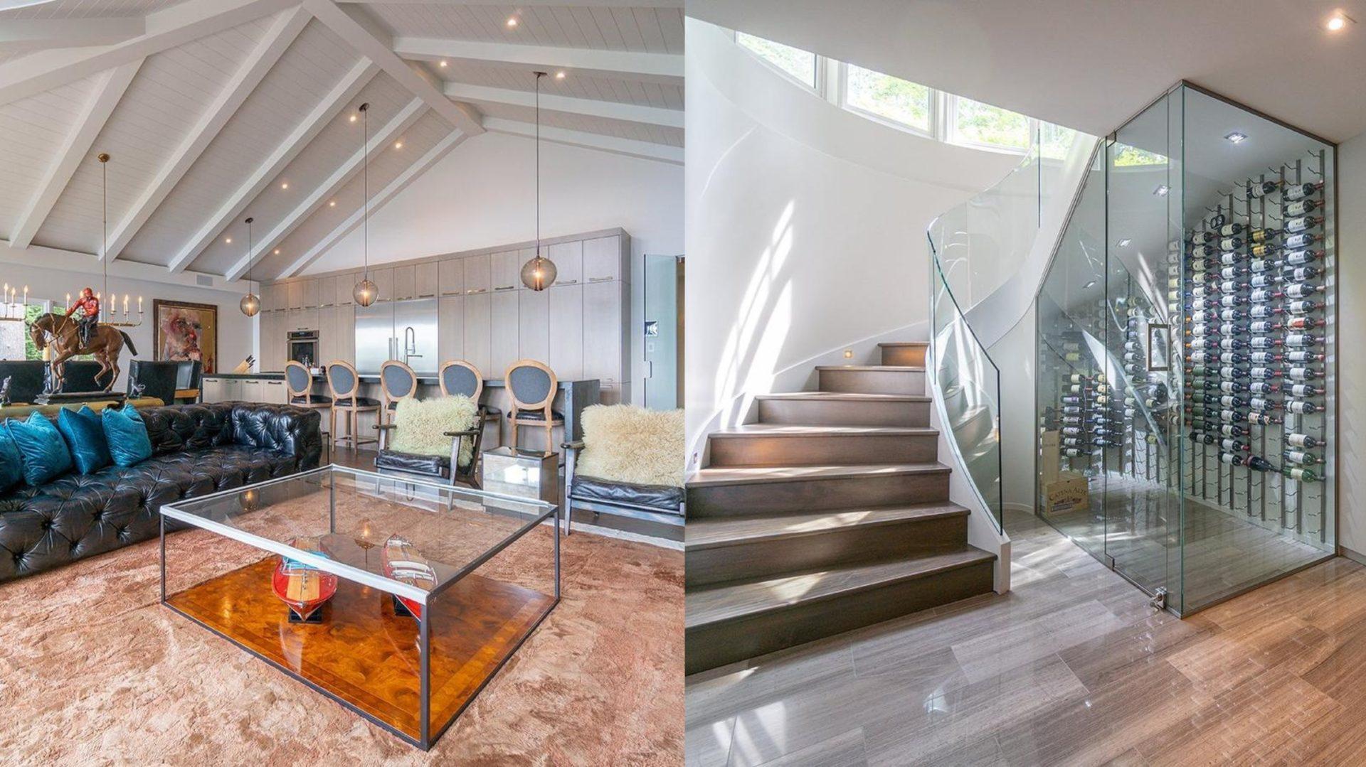 Cette magnifique maison de Magog est en vente à 3.2M$ et possède un cellier et un cinéma maison! [PHOTOS]