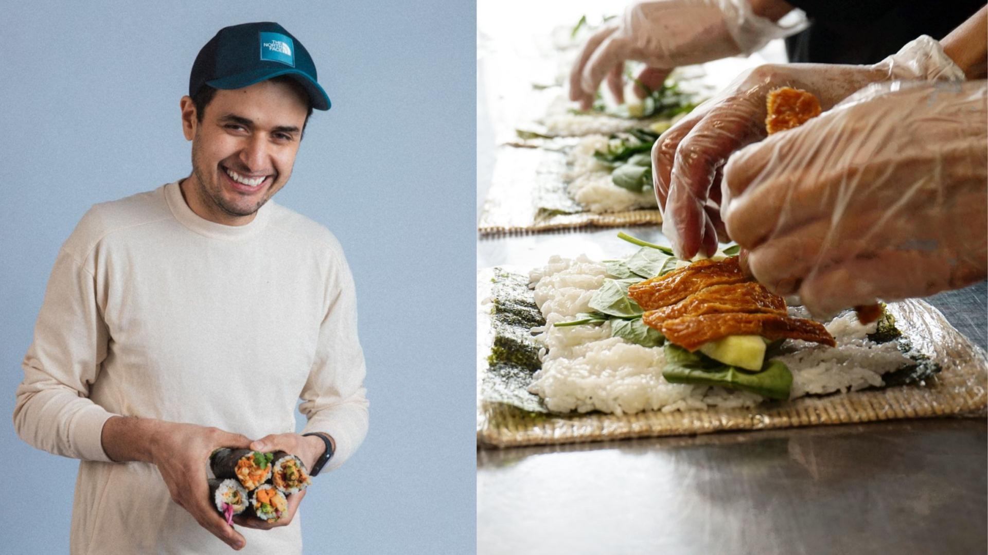 Nofish: la nouvelle cuisine fantôme végane du créateur de Sushi Momo et de la Casa Kaizen!