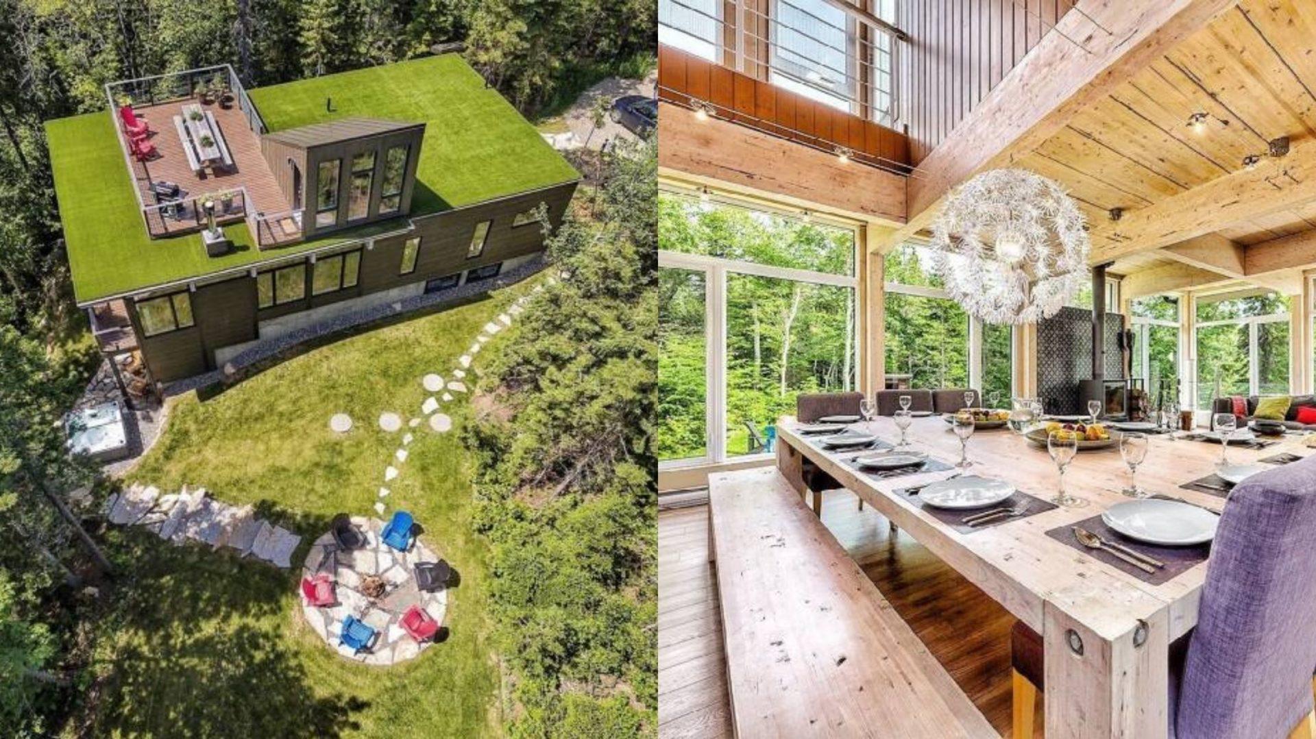 Cette superbe maison de Charlevoix au design unique est en vente au prix de 799 000$! [PHOTOS]