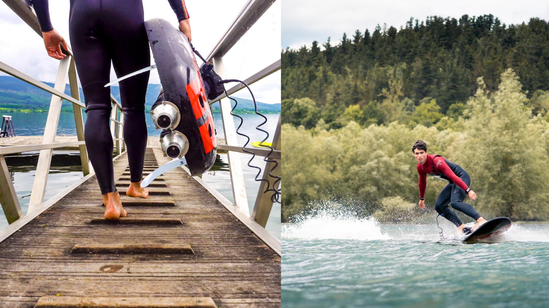 Cette entreprise québécoise propose des planches de surf électriques à la vente ou à la location! [VIDÉO]   Nightlife