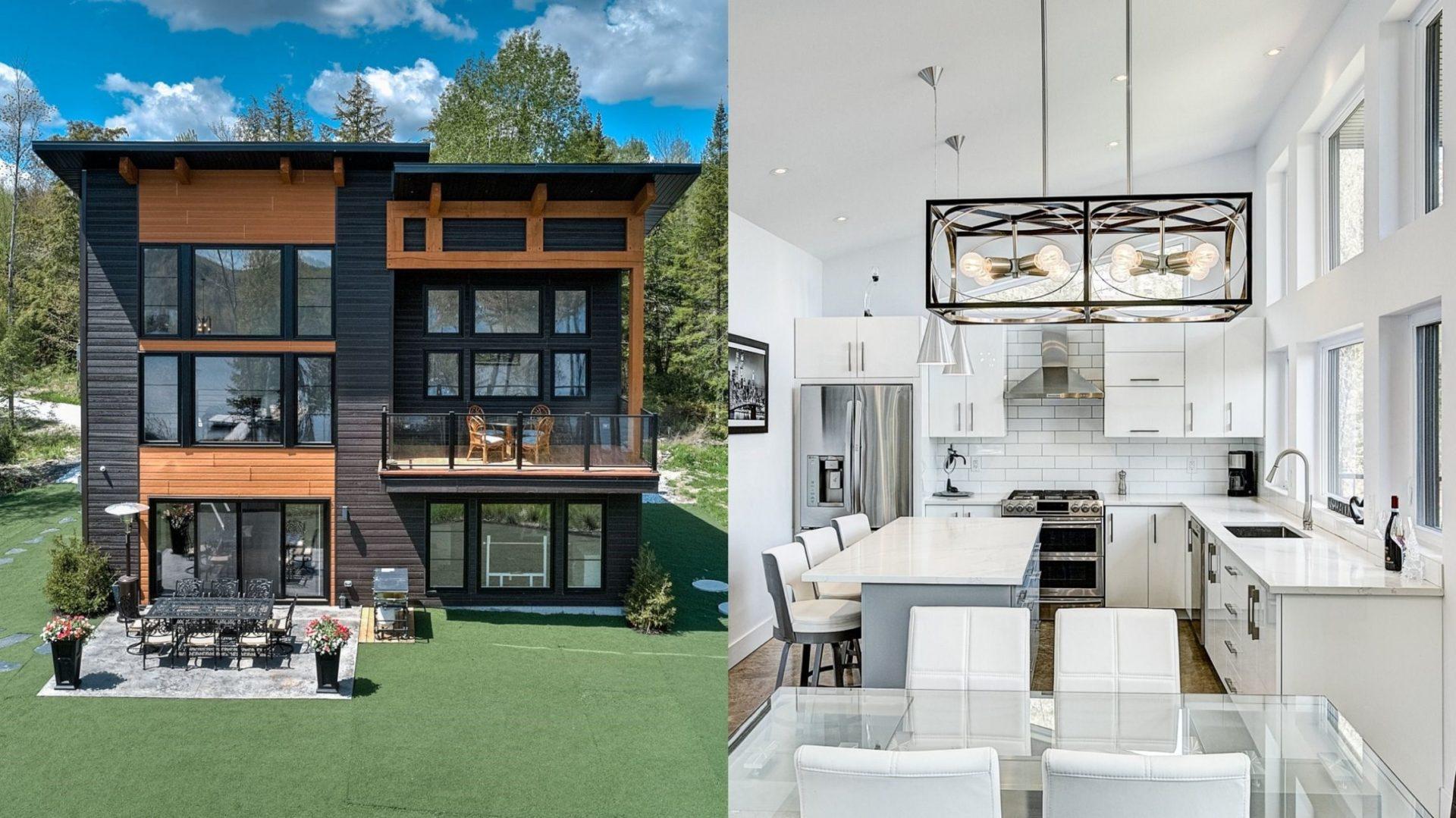 Cette magnifique maison d'Orford est en vente à 1,75M$ et elle est parfaite pour les amoureux de la nature!